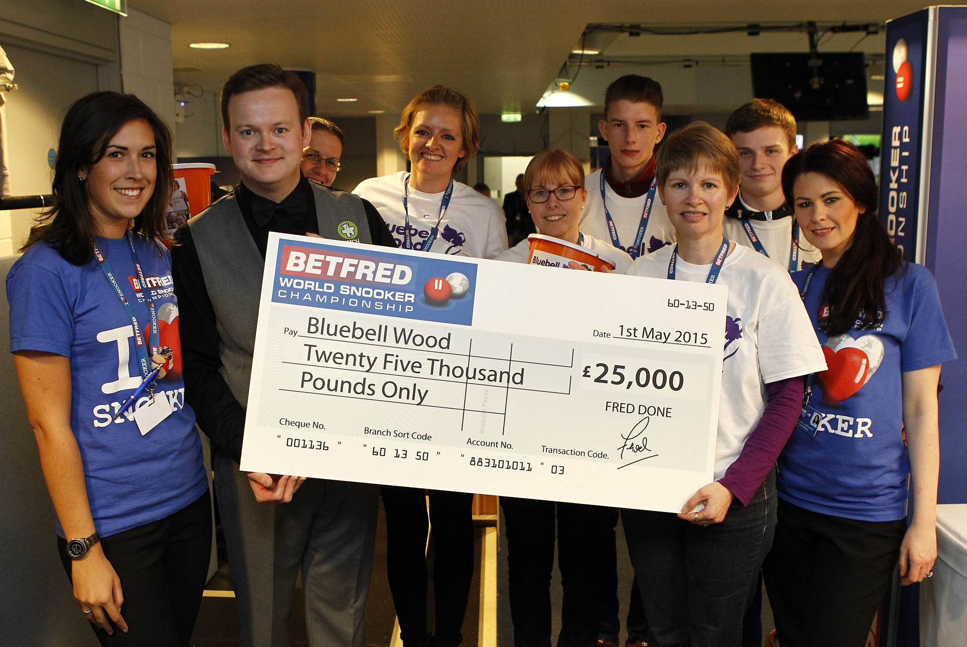Betfred donate £25k